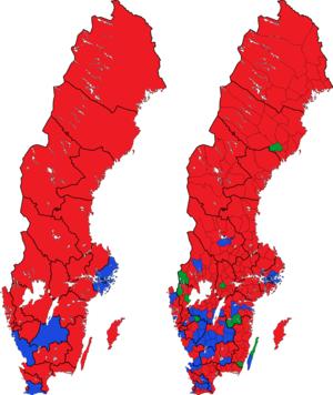 Rigsdagsvalget i Sverige 1994 i valgkredse og kommuner.png