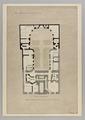 Ritning Hallwylska huset. Källarvånigen - Hallwylska museet - 90611.tif