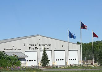 Riverview, Wisconsin - Fire Department and Community Center