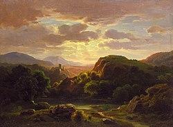 Robert S. Duncanson: Remembrances of a Scene Near Auerbach