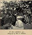 Robert Hugh Benson in His Garden 1911.jpg
