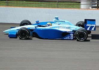 Roberto Moreno - Practicing for the 2007 Indianapolis 500