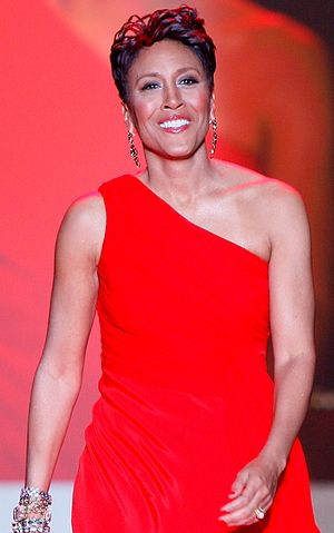 English: Robin Roberts in J. Crew Collection a...