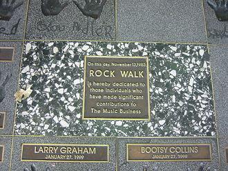 Guitar Center - RockWalk