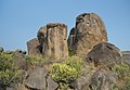 Rock formations at Bodhikonda 4.jpg