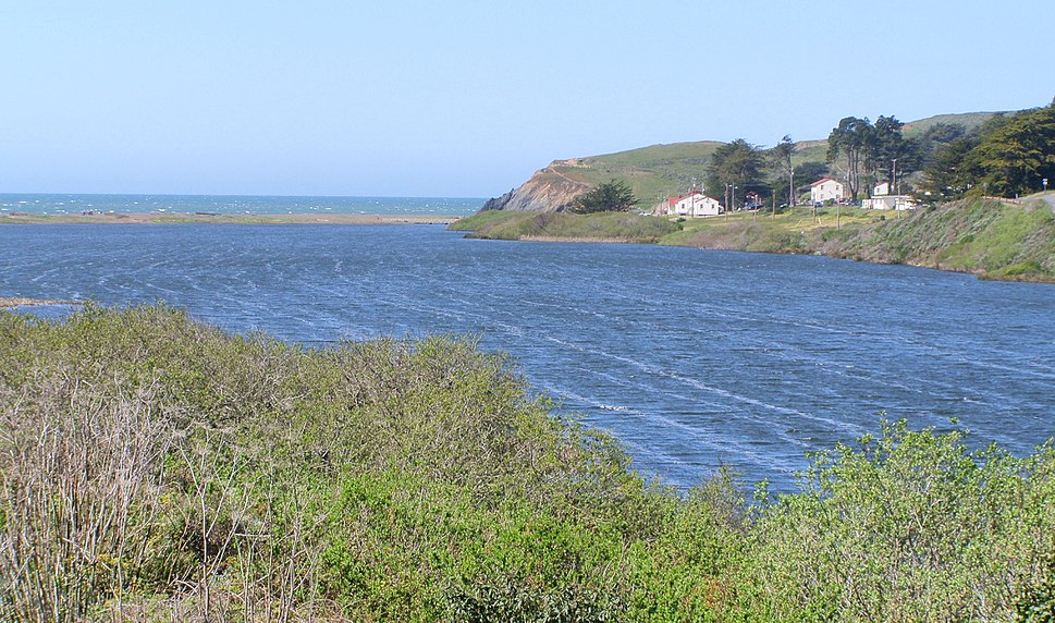 Rodeo Lagoon From Trail