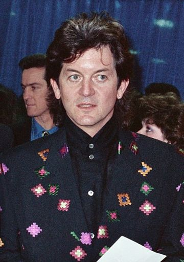 Crowell at the Grammy Awards in February 1990 Rodney Crowell Grammy Awards - back stage during telecast - February, 1990 cropped.jpg