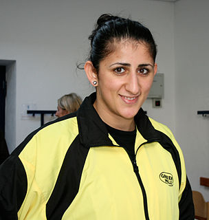 Rola El-Halabi German boxer