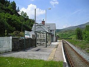 Roman Bridge railway station - Roman Bridge station