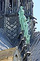 Roof statues, Notre-Dame Cathedral, Paris 2014.jpg