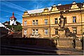 Roudnice nad Labem - View West on the Bridge Saint Barbora.jpg