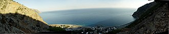 Agia Roumeli - Image: Roumeli panorama