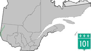 Quebec Route 101 - Image: Route 101 QC