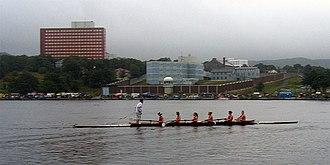 Quidi Vidi Lake - Rowers at the Royal St. John's Regatta