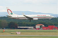 CN-ROK - B738 - Royal Air Maroc