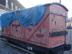 Royal Arsenal Railway - explosives wagon of the Royal Arsenal Railway