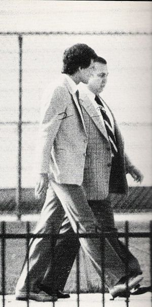 Roy DeMeo - DeMeo in a 1982 surveillance photo with second-in-command Joseph Testa.
