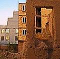 Ruins of an Old brick thatch house - North Qawami ave - near Al-Reza Mosque - Nishapur 69(Edited).jpg