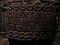 Runic inscriptions on Baptismal font.jpg