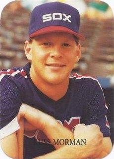 Russ Morman American baseball player