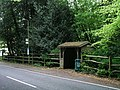 Rustic bus shelter in Colgate - geograph.org.uk - 434617.jpg