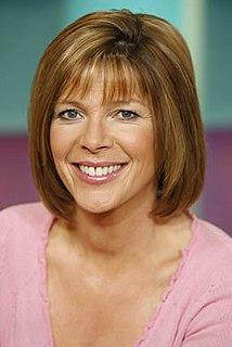 Ruth Langsford British TV presenter