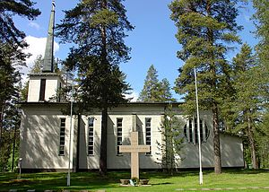 Juankoski - Säyneinen Church in Juankoski