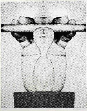Roman Cieślewicz - Untitled serigraphy (1978).