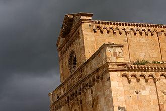 Giudicato of Cagliari - Cathedral of S. Maria of Monserrat, Tratalias
