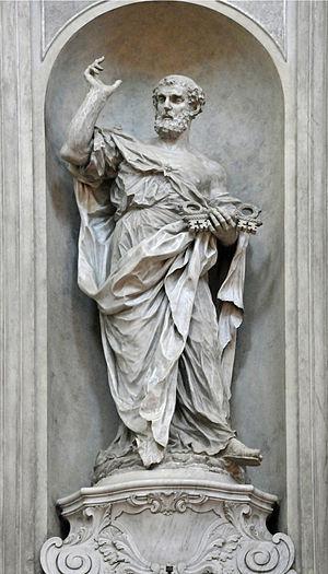 Giovanni Maria Morlaiter - Image: S. Pietro GB Morlaiter in Santa Maria del Rosario Gesuati