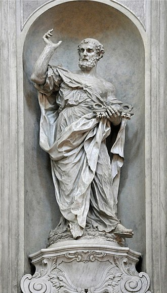 Gesuati - Image: S. Pietro GB Morlaiter in Santa Maria del Rosario Gesuati