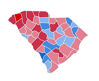 United States presidential election in South Carolina, 2000 - Image: SC2000