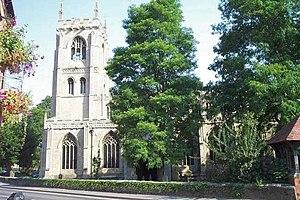 Kirton, Lincolnshire - Image: SS Peter and Paul, Kirton geograph.org.uk 120800
