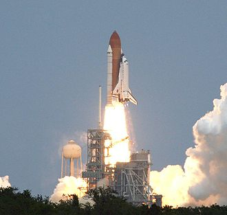 2009 in spaceflight - Image: STS 125 launch cropped