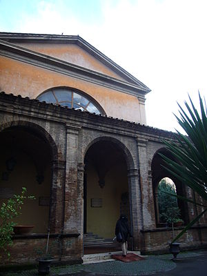 Museo Storico Nazionale dell'Arte Sanitaria - Main entrance of the Museum