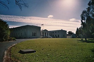 South African Astronomical Observatory - The buildings of the South African Astronomical Observatory in Cape Town.