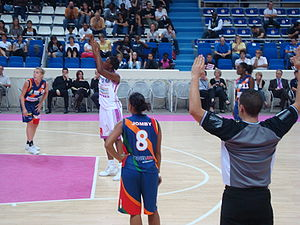 Free throw - Image: Sacko LF2
