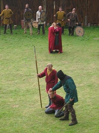 Steigen - Steigen Sagaspill (historical play), based on an old tale