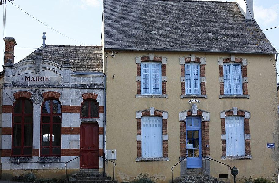 Mairie de Saint-Martin-de-Connée.