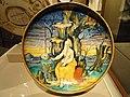 Saint Jerome dish, Italy (painted in Urbino, lustred in Gubbio), c. 1530 - Nelson-Atkins Museum of Art - DSC08609.JPG