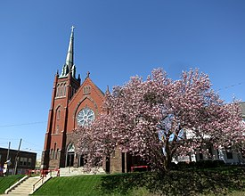 Saint Luke Catholic Church (Danville, Ohio) - exterior.jpg