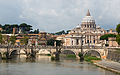 Saint Peter, Sant'Angelo bridge, Rome, Italy.jpg