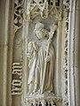 Saintes (17) Cathédrale Saint-Pierre Portail occidental 11.jpg