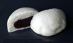 Saka-manju of Yamazaki Baking.jpg