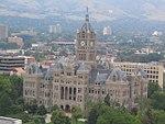 Salt Lake City and County Building, as Seen from Grand America Hotel, Salt Lake City, Utah (68883856).jpg