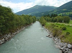 Salzach river near Neukirchen