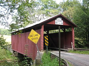 Sam Eckman Covered Bridge No. 92 - The bridge in September 2012