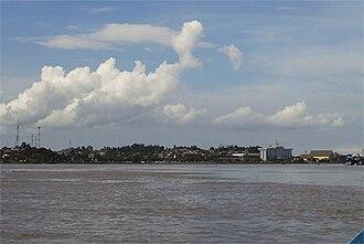 Mahakam River - Mahakam River at Samarinda
