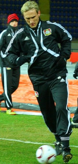 Sami Hyypiä - Hyypiä as Bayer Leverkusen head coach.