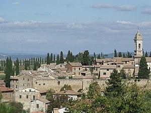 San Quirico d'Orcia - Image: San Quiricod Orcia Panorama